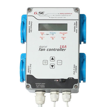 GSE 16A FAN CONTROLLER (2 FAN 2 SWITCH)
