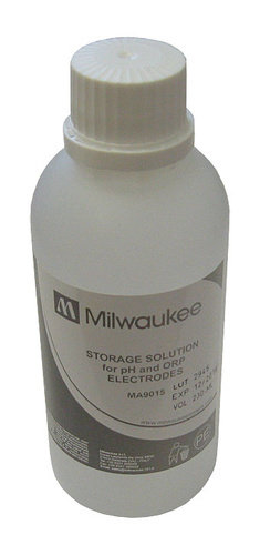 Milwaukee Storage solution for pH/ORP electrodes 230 mL